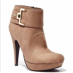 G by Guess Disco Buckle Booties